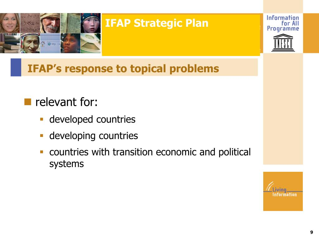IFAP Strategic Plan