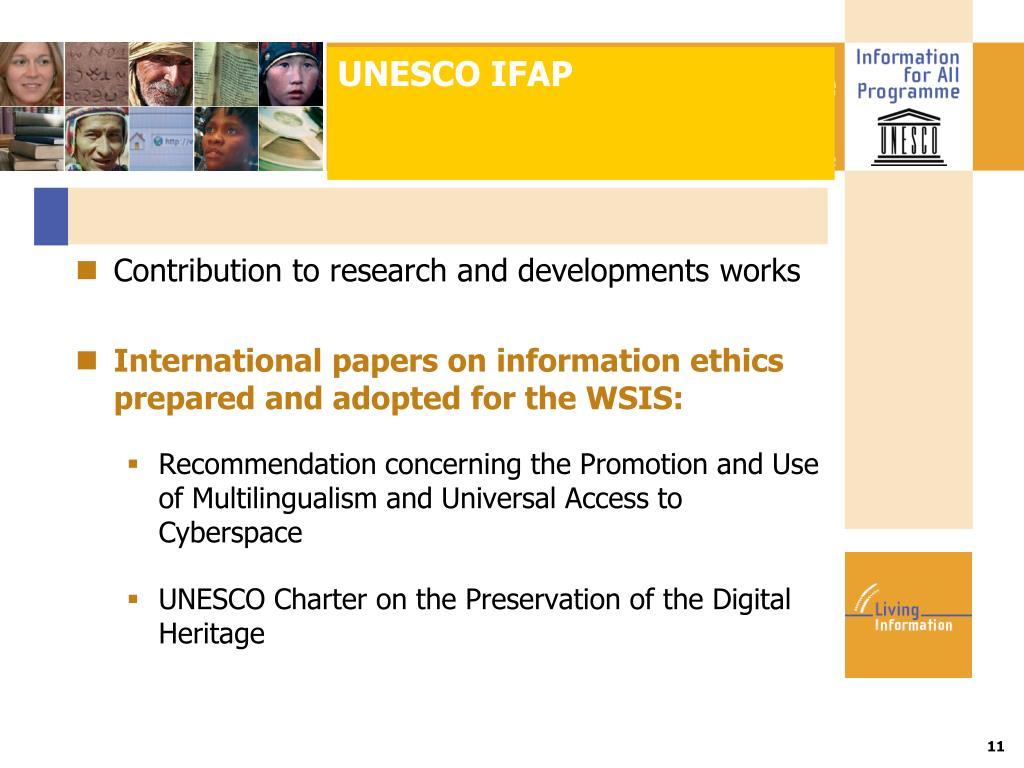 UNESCO IFAP