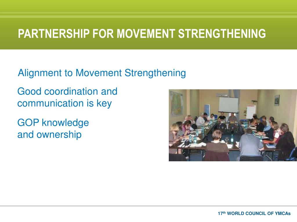 PARTNERSHIP FOR MOVEMENT STRENGTHENING