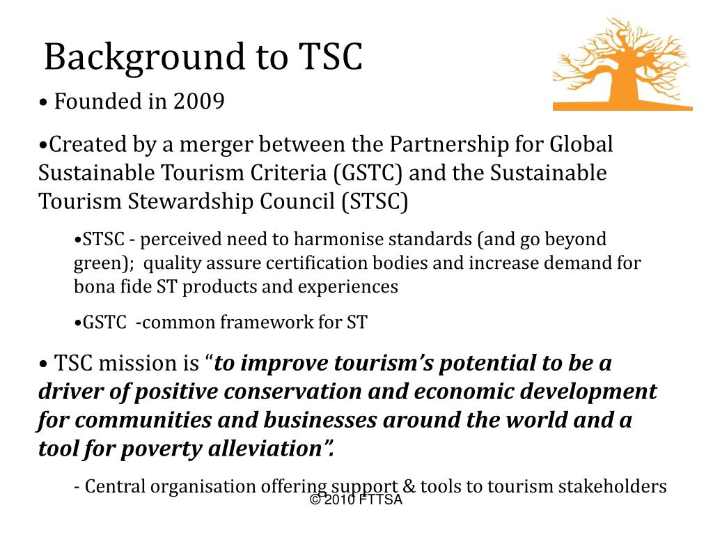 Background to TSC