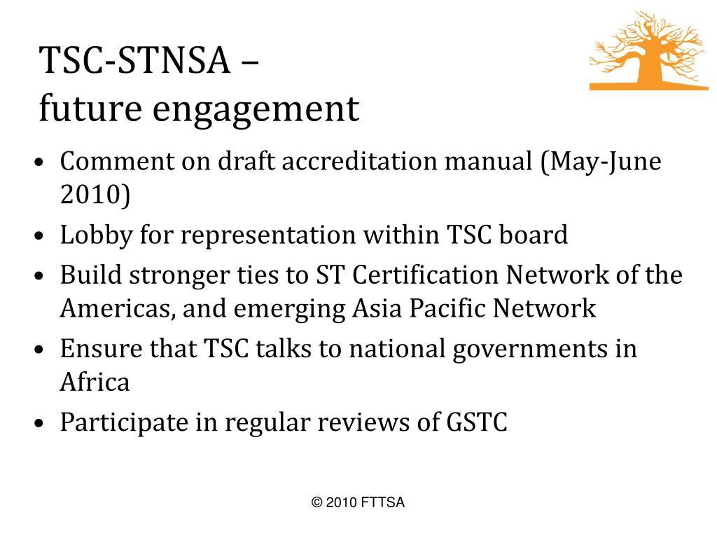 TSC-STNSA –