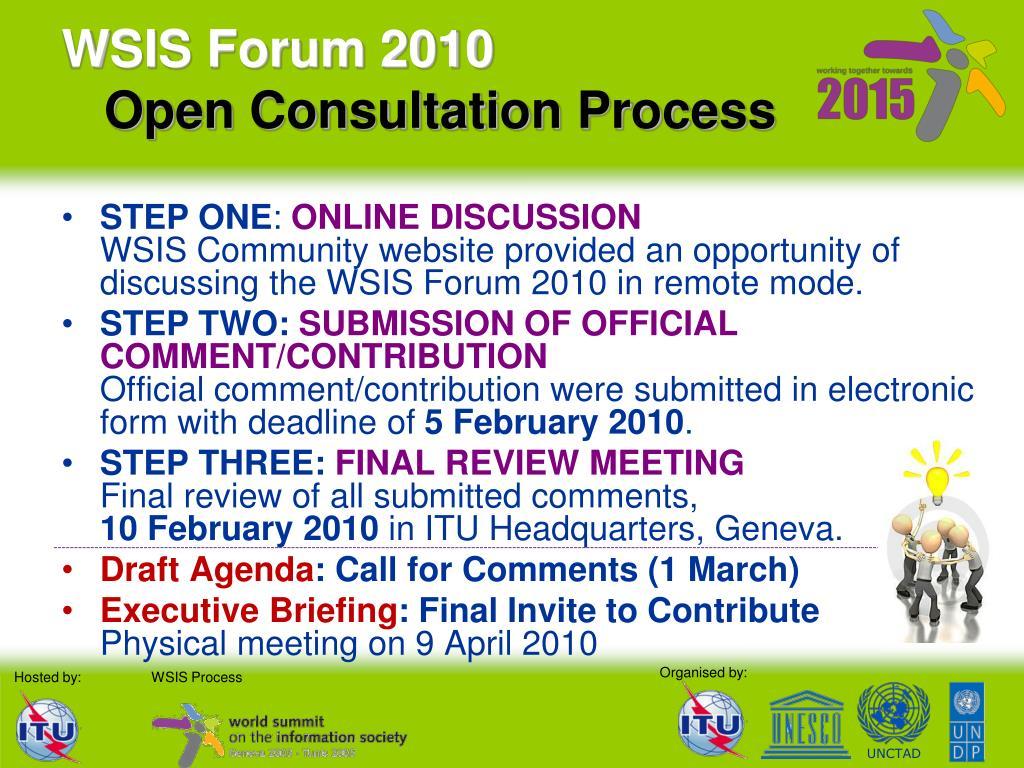 WSIS Forum 2010