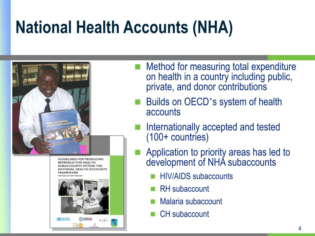 National Health Accounts (NHA)