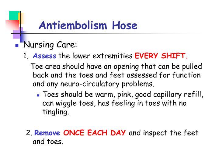 Antiembolism Hose