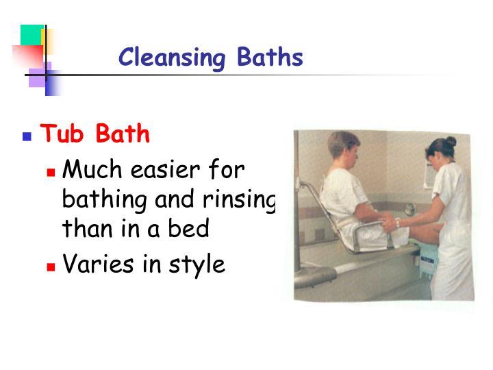 Cleansing Baths