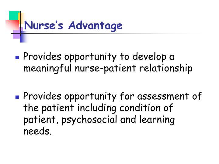 Nurse's Advantage