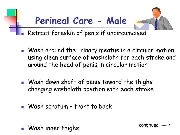 Perineal Care - Male