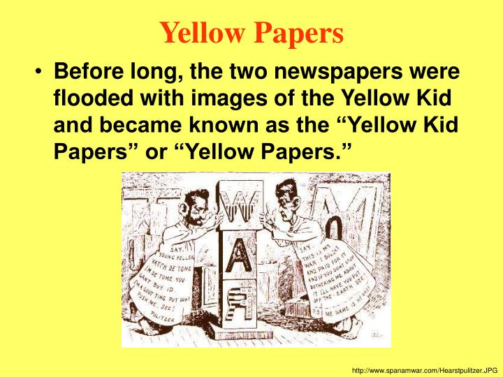 essay on yellow journalism in pakistan
