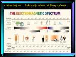 neioniziraju e frekvencije ni e od vidljivog zra enja