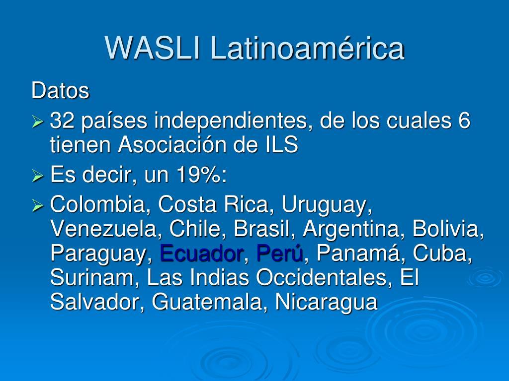 WASLI Latinoamérica
