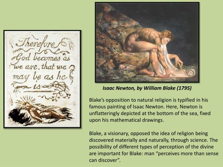 Isaac Newton, by William Blake (1795)