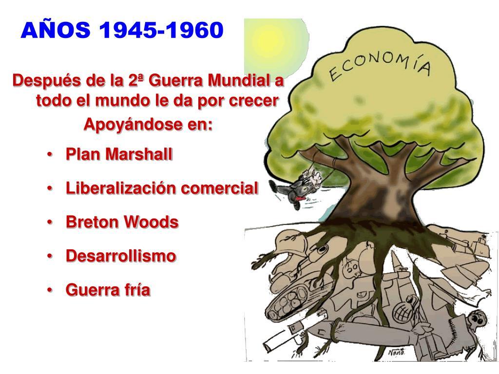 AÑOS 1945-1960