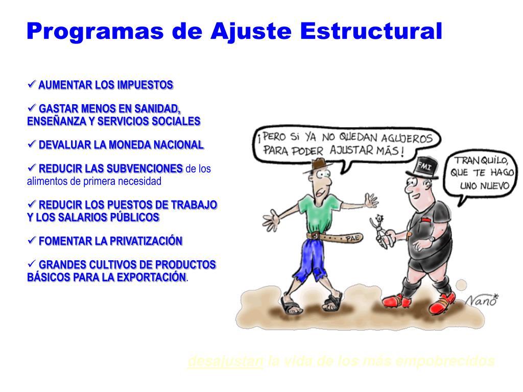 Programas de Ajuste Estructural