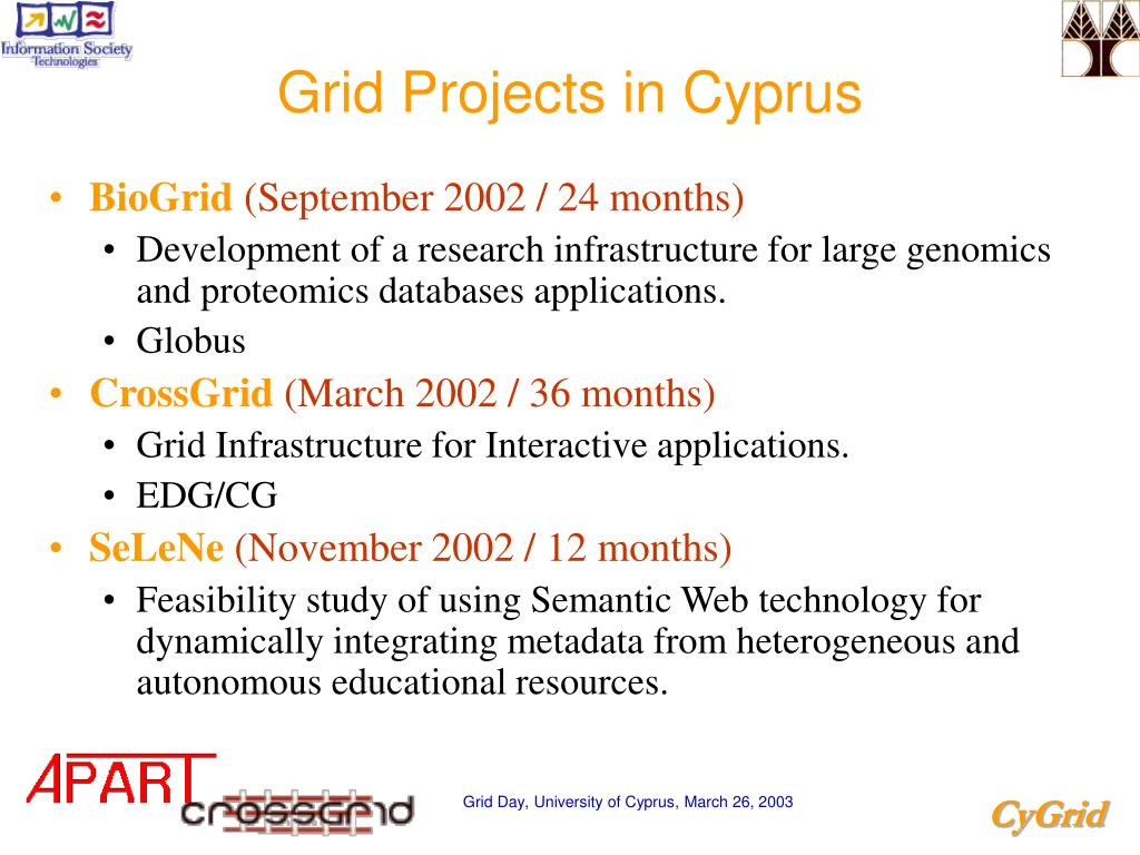 Grid Projects in Cyprus