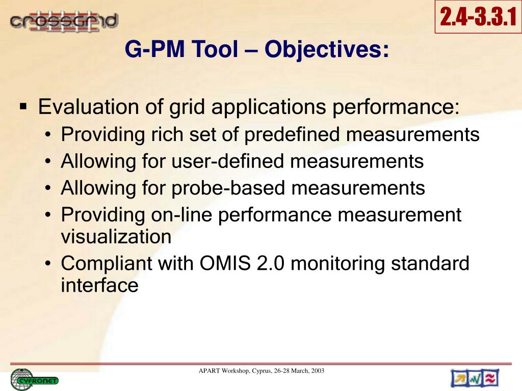 G-PM Tool