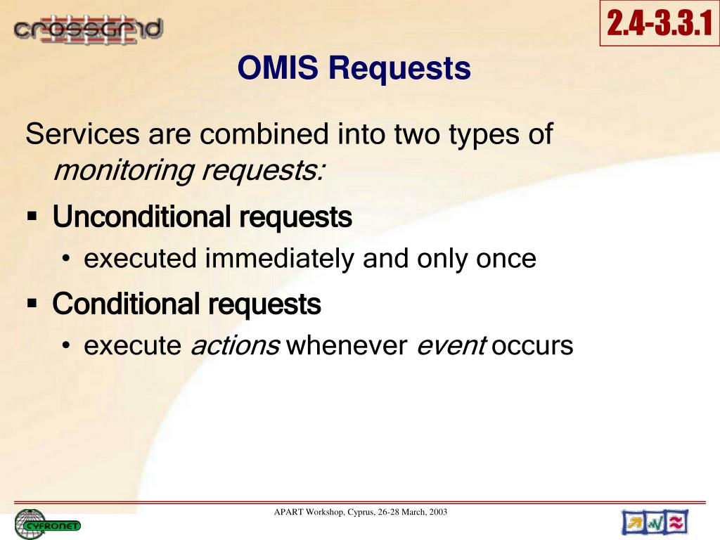 OMIS Requests