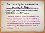 partnership for awareness raising in cyprus31