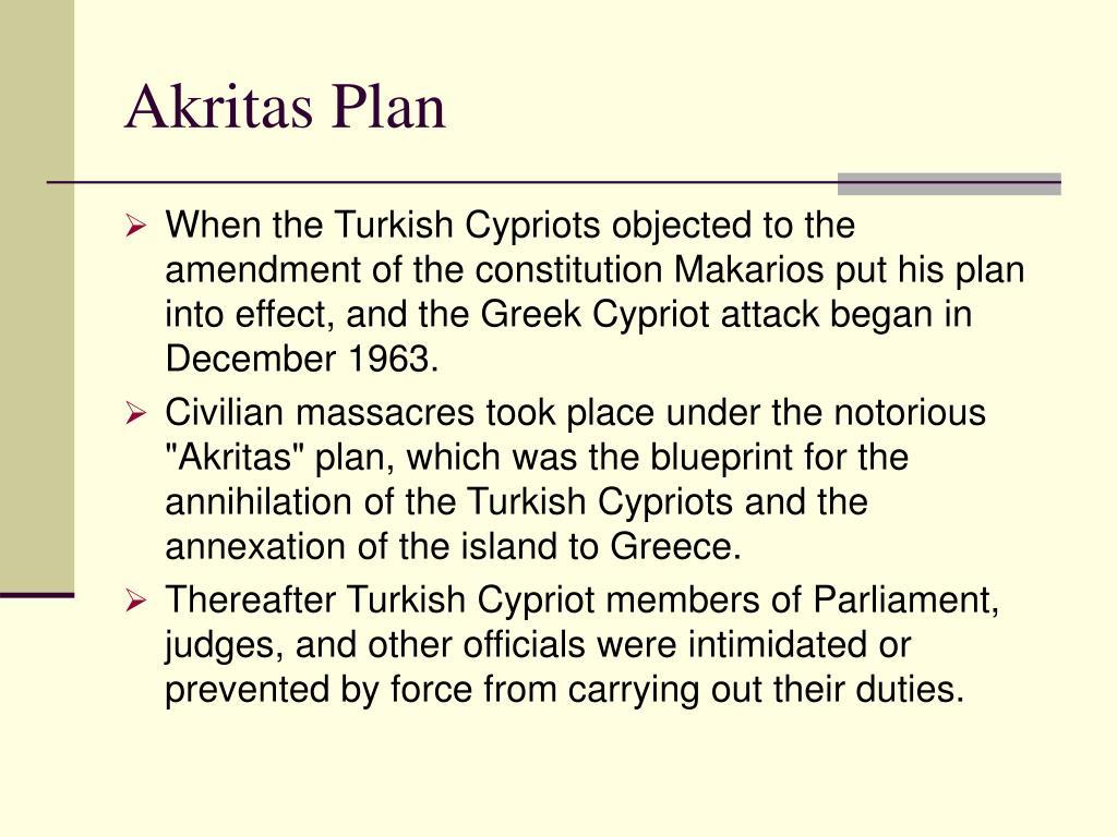 Akritas Plan