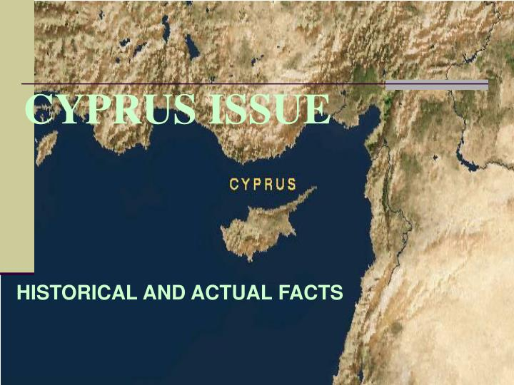 Cyprus issue