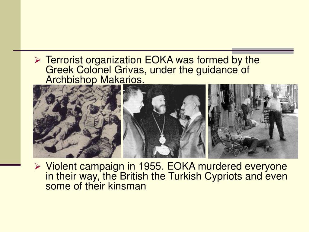 Terrorist organization EOKA