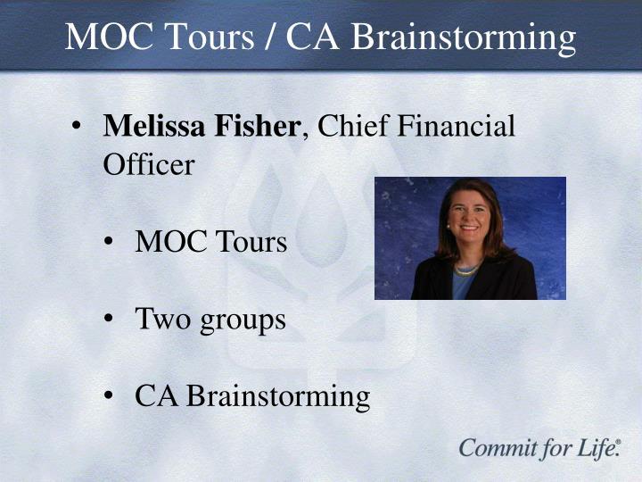 MOC Tours / CA Brainstorming