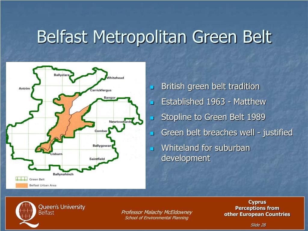 Belfast Metropolitan Green Belt