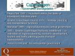 copenhagen governance and legislation