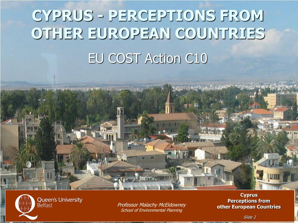 CYPRUS - PERCEPTIONS FROM OTHER EUROPEAN COUNTRIES