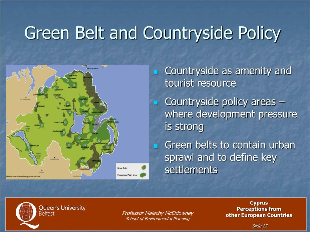 Green Belt and Countryside Policy