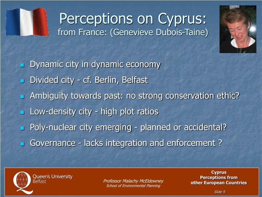 Perceptions on Cyprus: