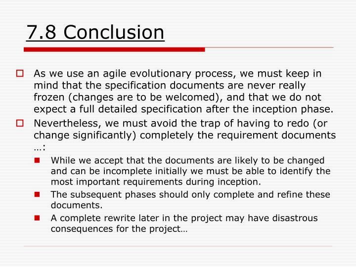 7.8 Conclusion