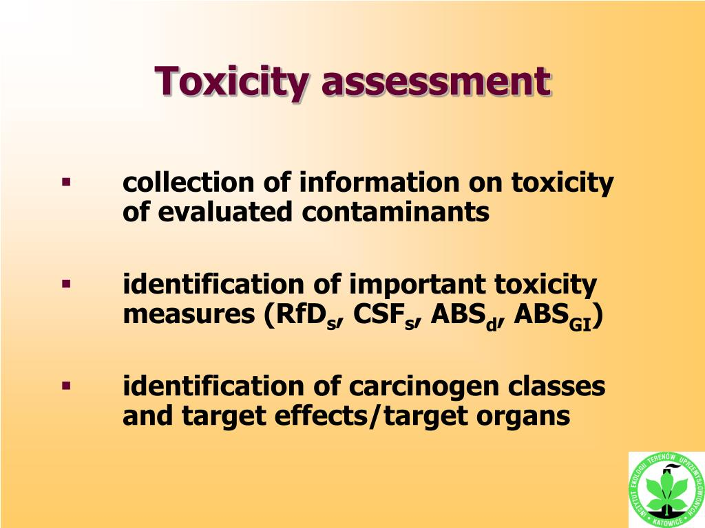 Toxicity assessment