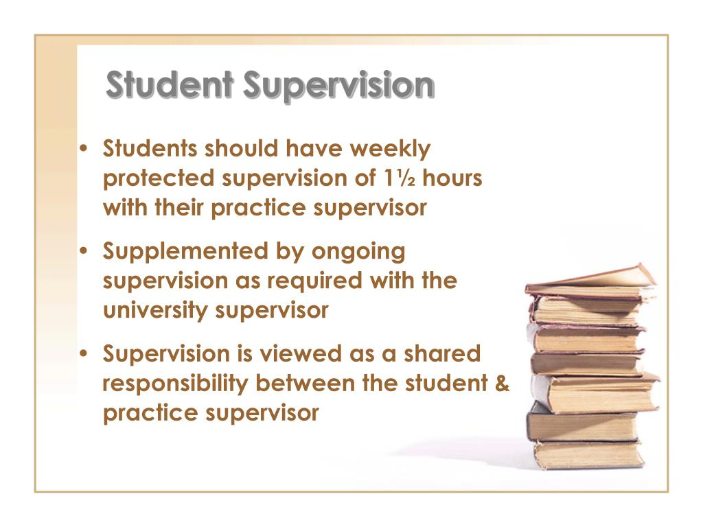 Student Supervision