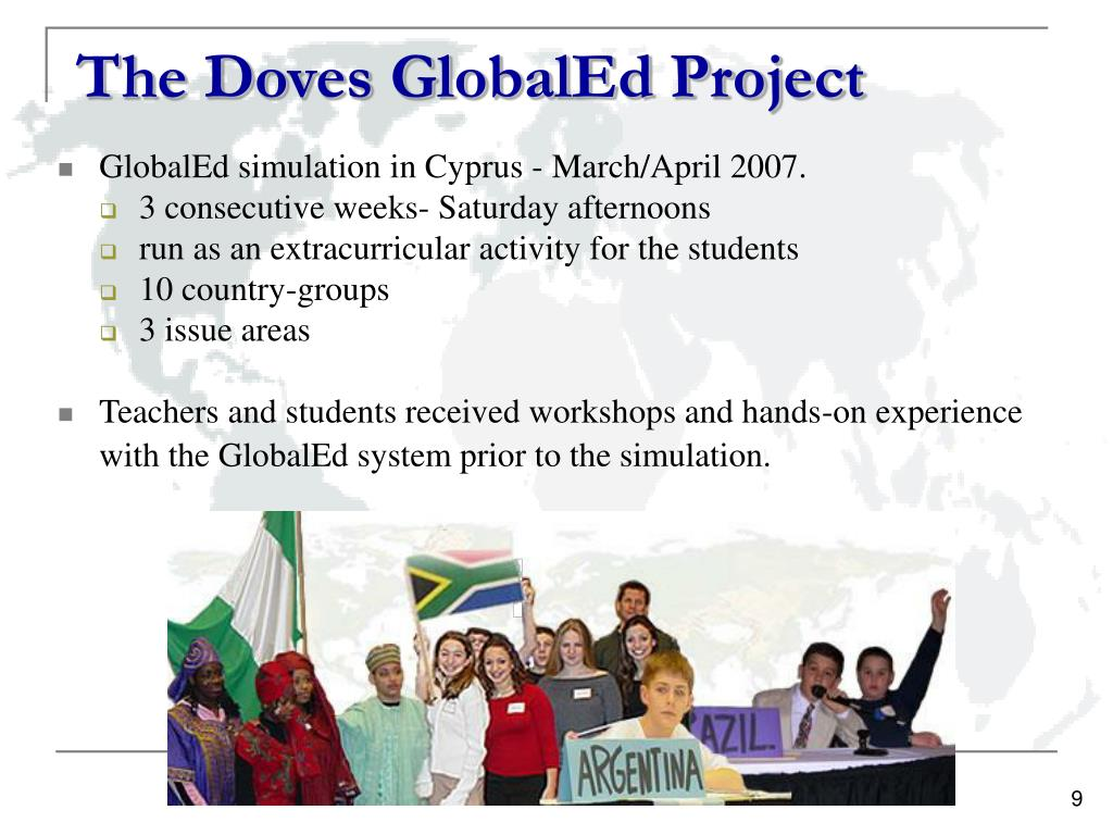 The Doves GlobalEd Project