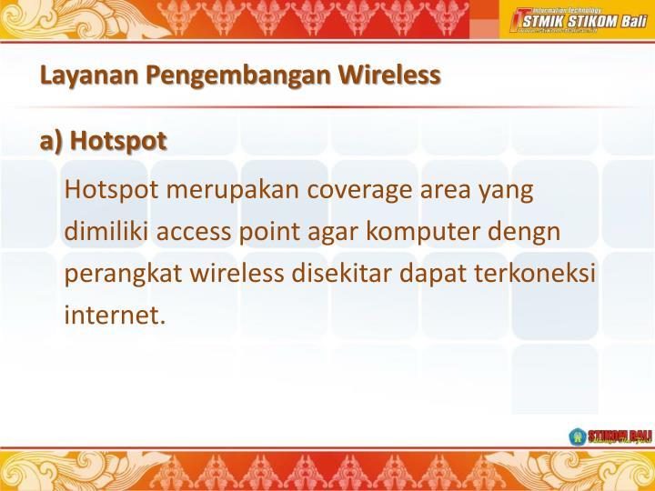 Layanan Pengembangan Wireless