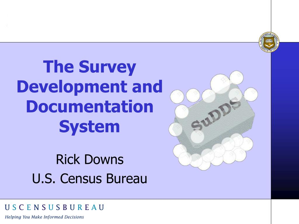 the survey development and documentation system