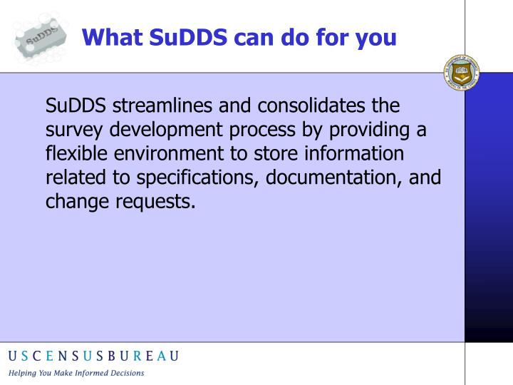 What sudds can do for you