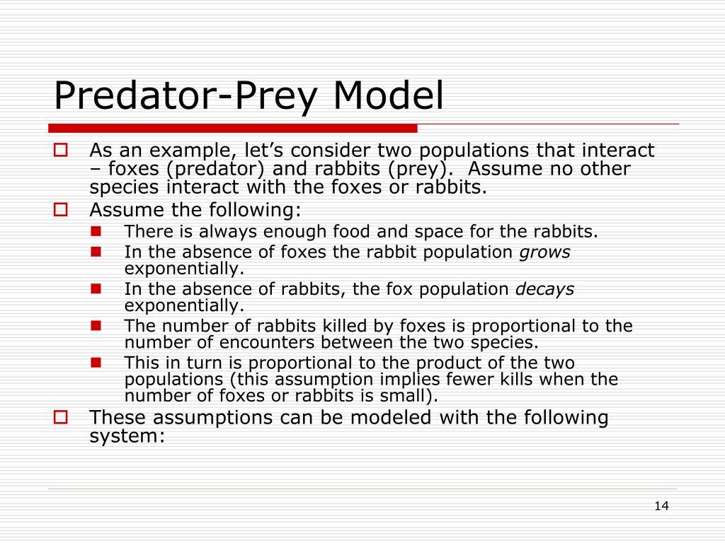 Predator-Prey Model