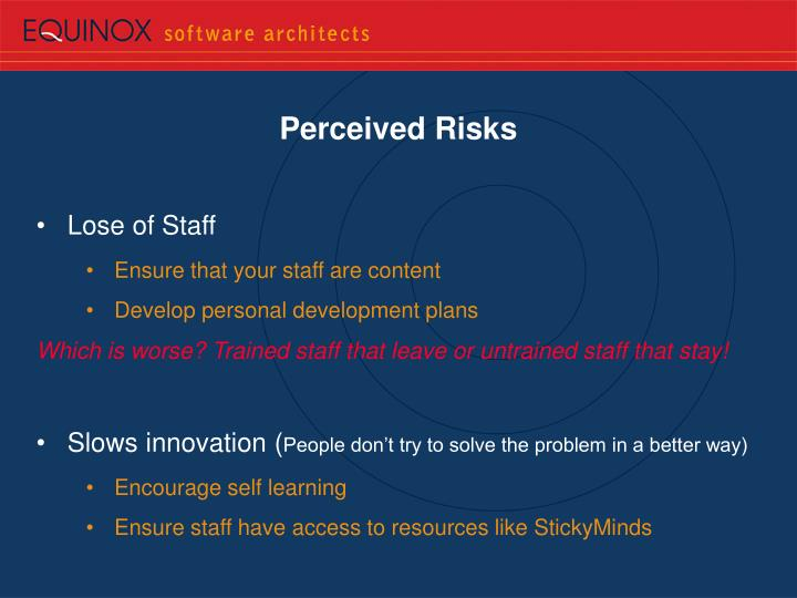 Perceived Risks