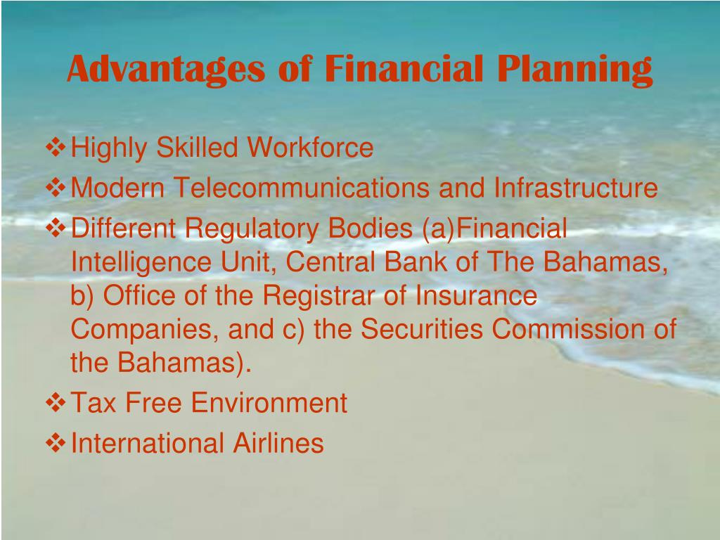 Advantages of Financial Planning