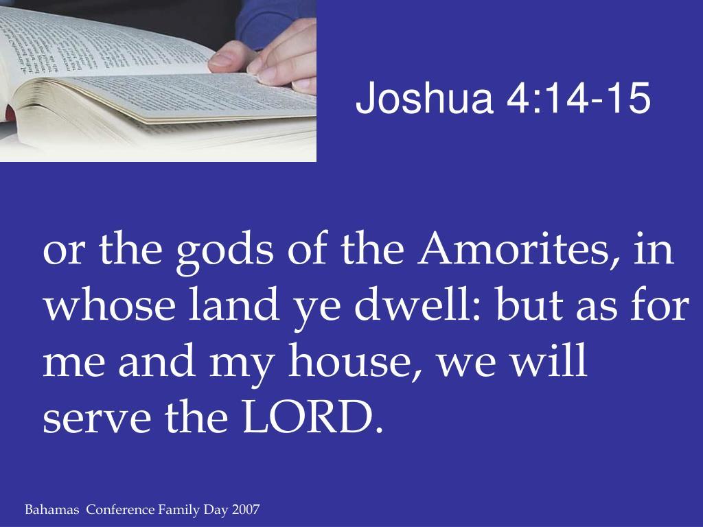 Joshua 4:14-15