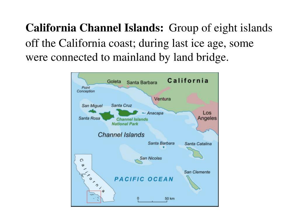 California Channel Islands:
