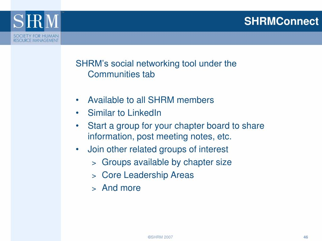 SHRMConnect