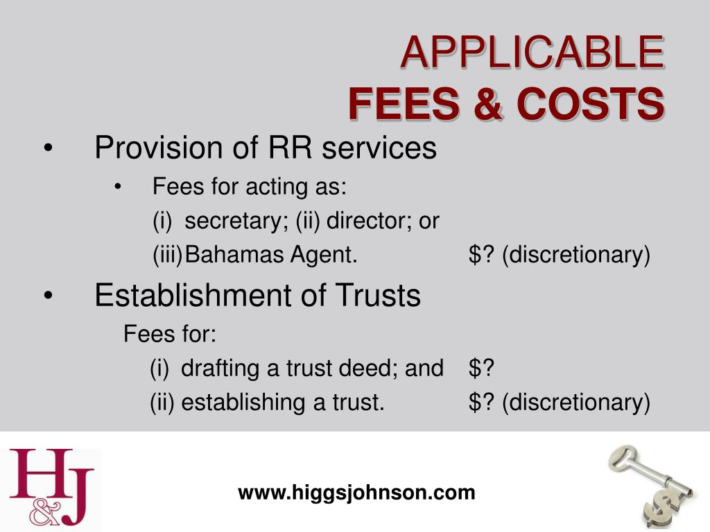 Provision of RR services