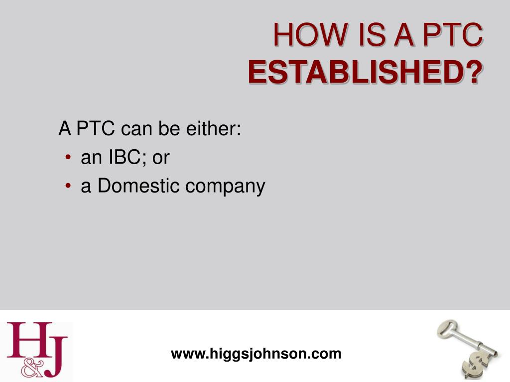 A PTC can be either: