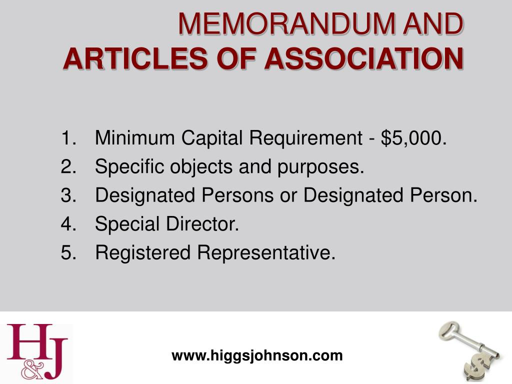 Minimum Capital Requirement - $5,000.