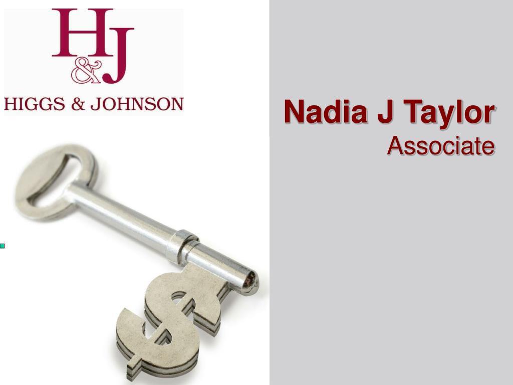 Nadia J Taylor