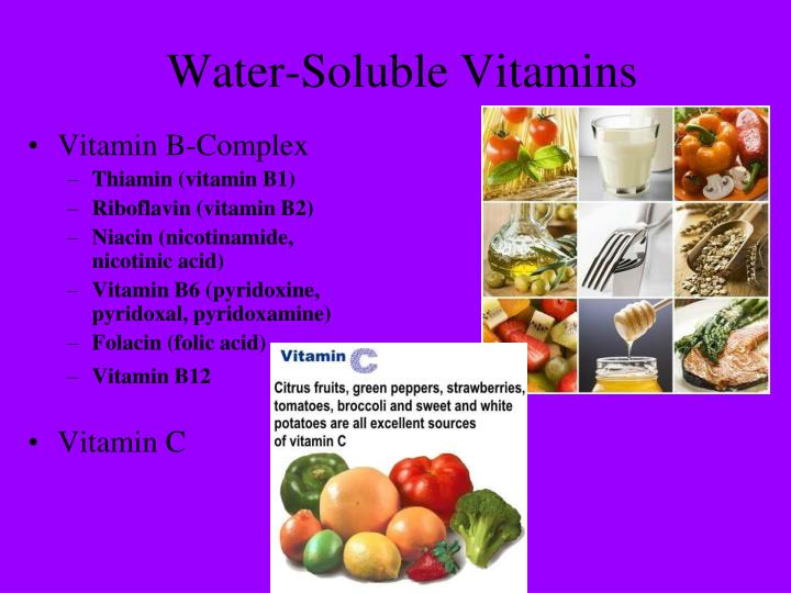 Water-Soluble Vitamins