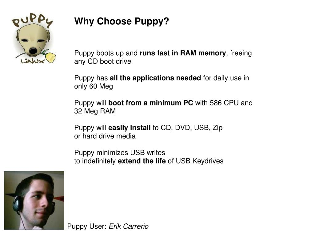 Why Choose Puppy?