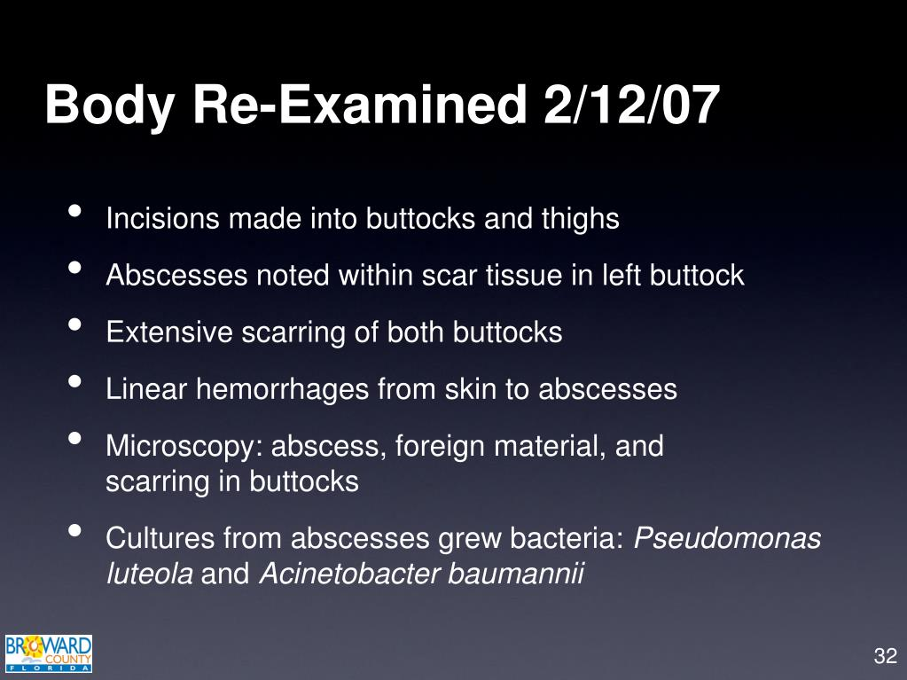 Body Re-Examined 2/12/07